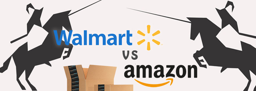 walmart vs amazon When looking at retail heavyweights, you don't have to look further than walmart and amazon to find the most successful what do you see as the current strengths and weaknesses of walmart and amazon, respectively.
