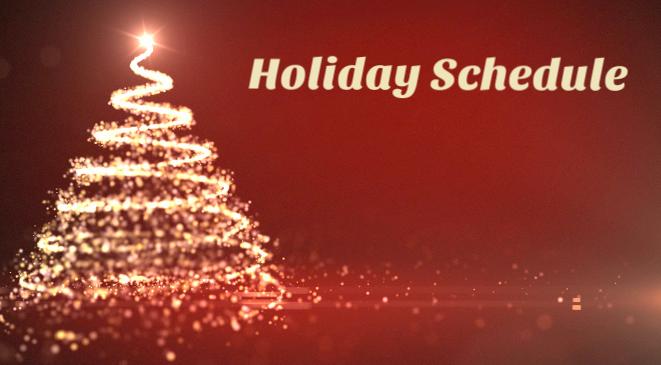 holidayschedule