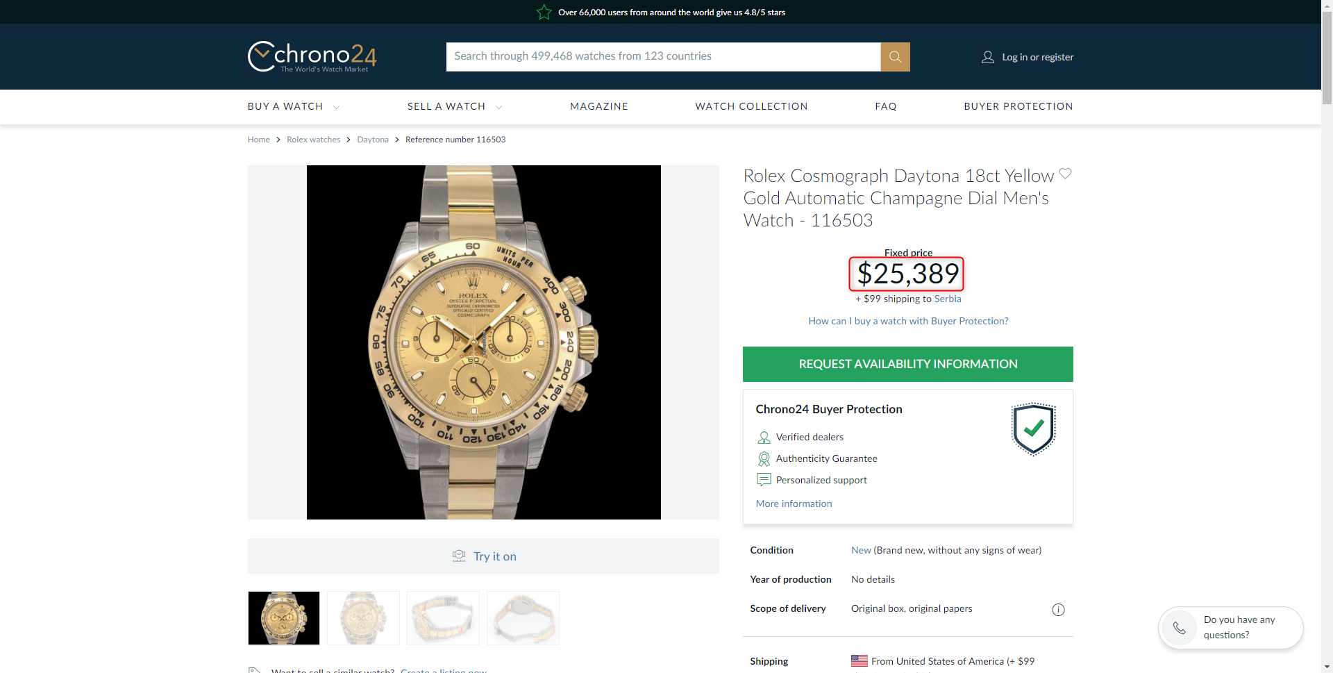 Rolex premium pricing