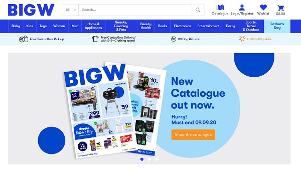 BIG W – Australia (www.bigw.com.au)