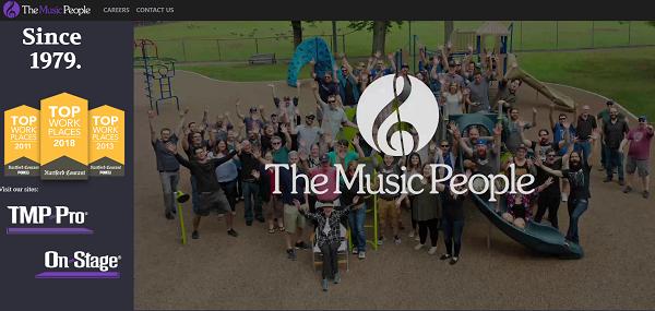 The Music People - USA (www.musicpeopleinc.com)