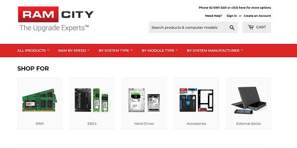Ramcity – Australia's leading RAM dealer