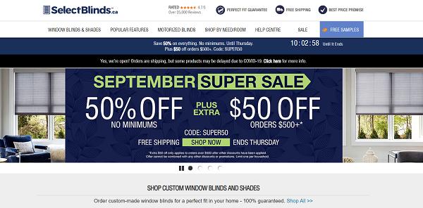 Select Shops – Canada (www.selectshops.com)